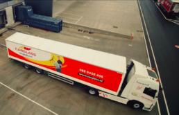 Carglass Belron Bilzen Distribution Center Truck Belgium