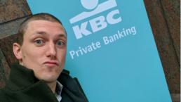 Marnick Vandebroek KBC bank private banking change mindset keynote